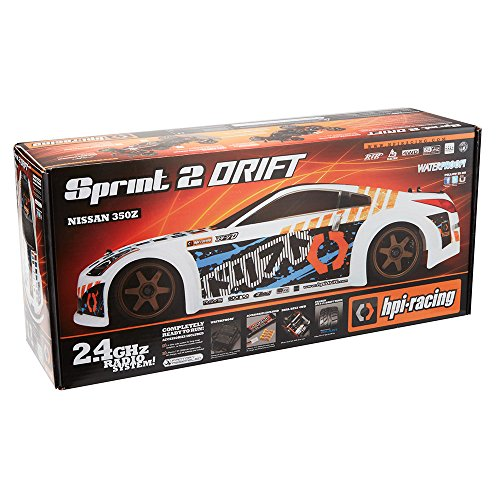 RC Auto kaufen Drift Car Bild 5: HPI Racing H106154 - Sprint 2 Drift RTR Nissan 350Z*
