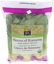 365 Everyday Value, Organic Hearts of Romaine, 3 ct