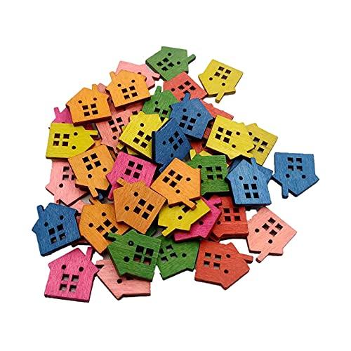 Botones De Madera Decorativos Para Ropa De ReparacióN De Color Botones De Etiqueta De Color De Ropa Botones De Madera Natural Adecuado Para ReparacióN De Ropa, IdentificacióN De Etiquetas