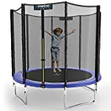 Kinetic Sports Gartentrampolin TPLH08 (Ø 244 cm, blau)