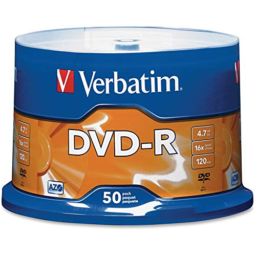 Verbatim DVD-R 4.7GB 16x AZO Recordable Media Disc