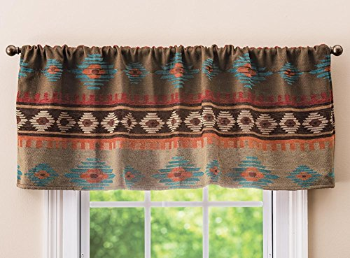 Black Forest Décor Canyon Shadows Diamond Rustic Valance