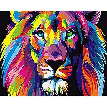 Coloré Abstrait Couleur peintures murales images XXL toile canevas f-c-0100-b-n