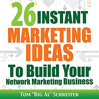 26 Instant Marketing Ideas to Build Your Network Marketing Business cover art