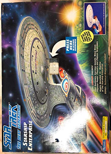 Star Trek The Next Generation Starship Enterprise Collector's Edition