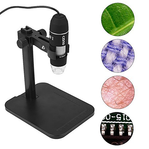 CISNO 2MP 1000X USB Digital Microscope Endoscope Zoom Camera Magnifier with Fixed Stand