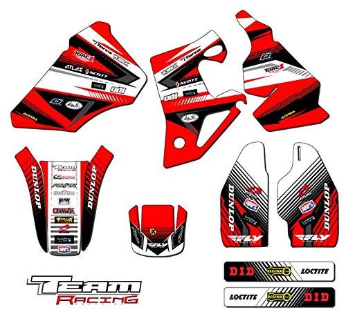 Team Racing Graphics kit compatible with Honda 1996-2002 CR 80, ANALOG