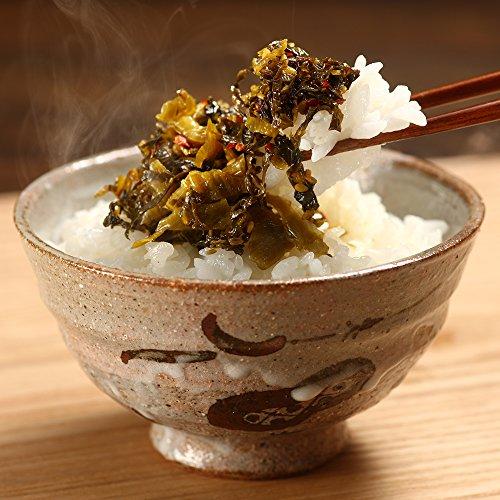 博多久松 謹製 辛子たかな2パックセット(辛口、明太子各1パック)