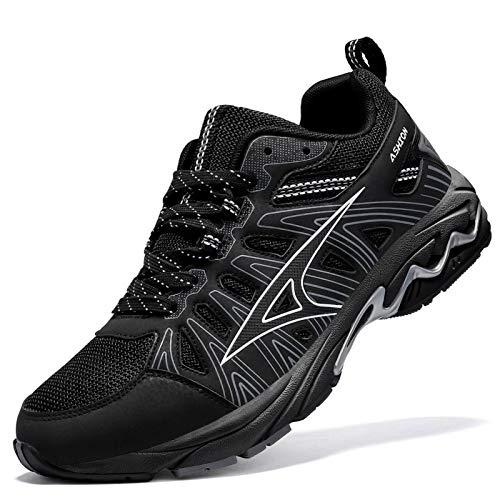 ASHION Men's Road Running Athletic Shoes Long Distance Excursion