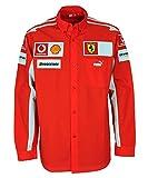 Puma Scuderia Ferrari Rennfahrer Langarm Hemd 600788-01 -