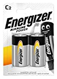 Energizer Alkaline Power -Pack de 2 pilas Alcalinas C