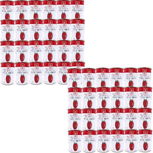 イタリア産 完熟 ホールトマト缶 (400gx48缶) 業務用 缶詰 プルトップ 買い置き まとめ買い