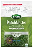 Scotts PatchMaster Lawn Repair Mix Tall Fescue Mix - 4.75 lb., All-In-One Bare Spot Repair, Feeds...