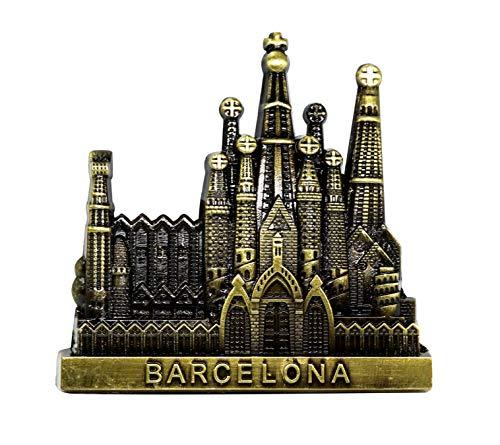 Sagrada Familia Kathedrale Barcelona, Spanien 3D Metall Kühlschrank Magnet Travel Souvenirs Home & Küche Dekoration