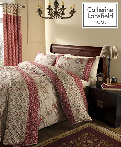 Catherine Lansfield Kashmir Easy Care King Duvet Set Multi