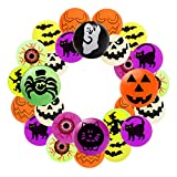 LOVESTOWN Halloween Bouncing Toys, 24 Pcs Halloween Bouncy Balls Including 20 Pcs Glow in The Dark Bouncing Balls Halloween Trick or Treat Toys for Halloween Party Favors School Classroom Game Rewards