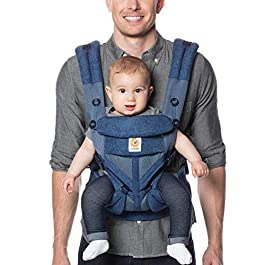 Ergobaby Ergobaby Carrier All Carry Positions Baby Carrier with Cool Air Mesh, Plum