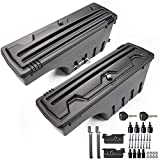 VRracing One Pair Set of Driver & Passenger Side Lockable Toolbox Compatible for Dodge Ram 1500 2500 3500 2002-2018 ABS Truck Bed Storage Box