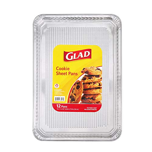 Glad BB11986 Aluminum Pans 12 Count