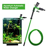 Morningtime Aspirateur Électrique pour Aquarium Nettoyeur D'aquarium Changeur d'eau D'aquarium Décapant Automatique D'aspiration De Siphon D'aquarium De Vide De Changement d'eau