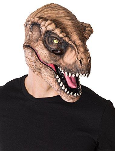 Rubies Jurassic World T Rex masker voor volwassenen standaard