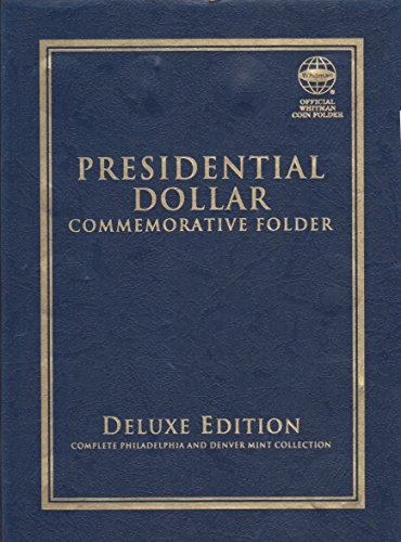 2007-2016 PRESIDENTIAL DOLLAR COMMEMORATIVE FOLDER ALBUM WHITMAN QUADFOLD #1