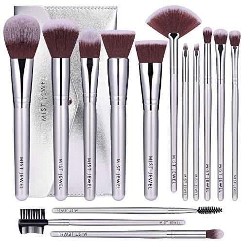 Brochas Maquillaje Estuche marca Mist Jewel