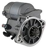 Rareelectrical NEW STARTER MOTOR COMPATIBLE WITH JOHN DEERE 2025R 2305 2320 YANMAR DIESEL 428000-0870 119626-77020 M810337 AM810337 4280000870 11962677020