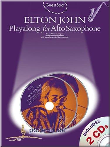 Elton John - Playalong for Alto Saxophone - Altsaxophon Noten [Musiknoten]