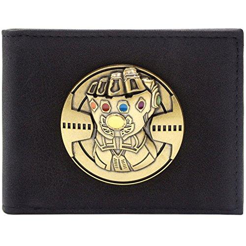 Avengers Infinity Gauntlet Soul Gems Noir Portefeuille