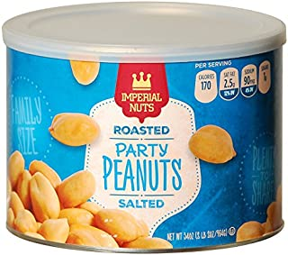 Imperial Nuts Roasted Party Salted Peanuts 2 LB 2 oz