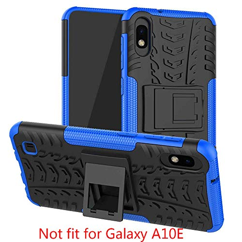 """SKTGSLAMY Galaxy A10 Case, [not fit Galaxy A10e 5.8""""], Shockproof Tough Rugged Dual Layer Protective Case Hybrid Kickstand Cover for Samsung Galaxy A10 6.2"""" (Blue)"""