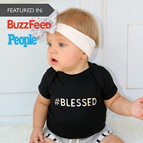 Product Image 6: Fayfaire Baptism Gifts for Boys   Girls Christening Outfit Bodysuit   Blessed NB-2T