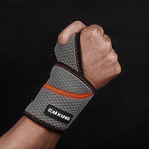 design unico selezionare per lo spazio materiale selezionato Coppia di 2 fasce elastiche per POLSO e palmo mano supporto ...