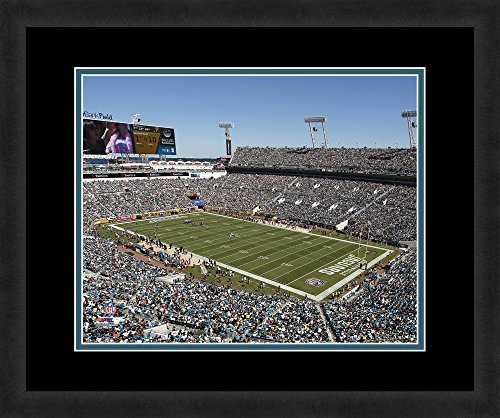 "NFL Jacksonville Jaguars EverBank, Beautifully Framed and Double Matted, 18"" x 22"" Sports Photograph"