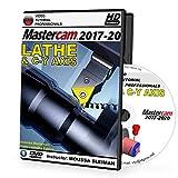 Mastercam 2017-2020 LATHE & C-Y AXIS Video Tutorial HD DVD