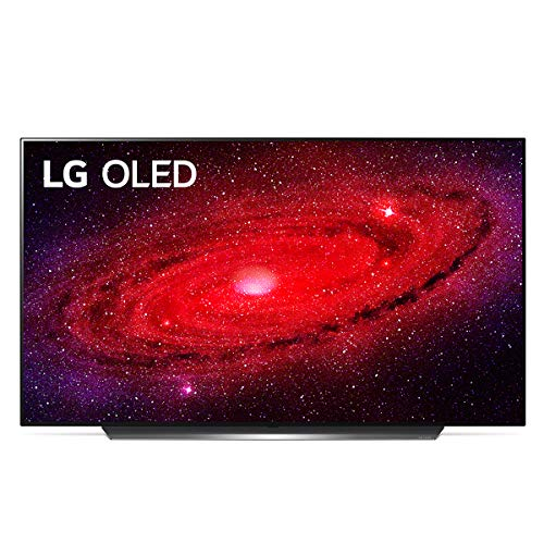 """LG OLED65CX6LA Smart TV 4K 65"""", TV OLED Serie CX con Dolby Vision IQ, Dolby Atmos, Processore 4K α9 Gen3 con AI, Wi-Fi, AI ThinQ, FILMMAKER MODE, HDR, Google Assistant e Alexa Integrati"""