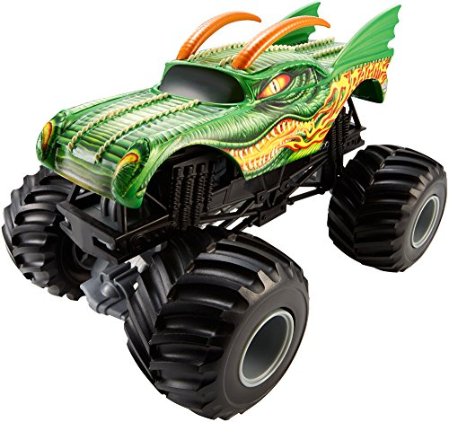 Hot Wheels Monster Jam 1:24 Vehículo, Dragon