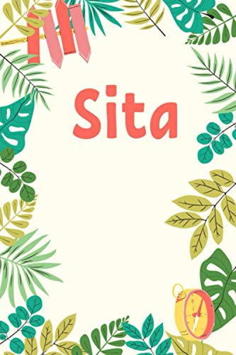Sita: Personalized Journal Gift for Sita, Notebook Gift, Sita name gifts, Gift Idea for Sita, 120 Pages, 6x9