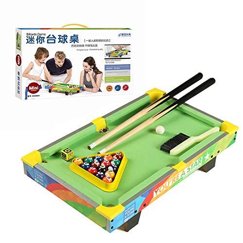 CX TECH Portable Kids Mini Mesa de Billar Mesa de Billar de Lujo Superior Billar de Escritorio Clásico Juego de Deportes de Interior Regalo de Juguete Interactivo