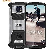 OUKITEL WP6 IP68 Móvil Libre Resistente,6.3'' FHD+ (Gorilla Glass),10000mAh Batería Telefonos Robusto,48MP+16MP Triple Cámara Rugged Móvil,6GB+128GB Helio P70 Dual 4G Impermeable Smartphone(Negro)