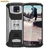 oukitel wp6 ip68 rugged smartphone in offerta,6.3 fhd+ (gorilla glass),10000mah batteria outdoor smartphone robusto,6gb+128gb helio p70 dual 4g impermeabile antiurto, 48mp triple ai camera(nero)