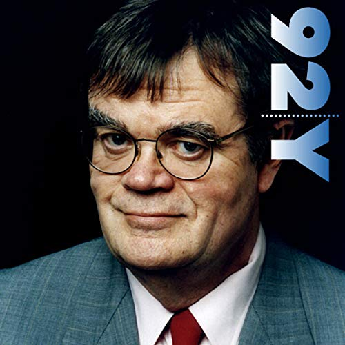 Garrison Keillor at the 92nd Street Y audiobook cover art