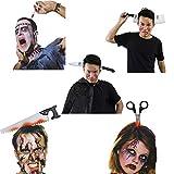 YSYDE 5 Piezas de Diademas de Terror de Halloween, Son Tan ensangrentadas y realistas, livianas y...