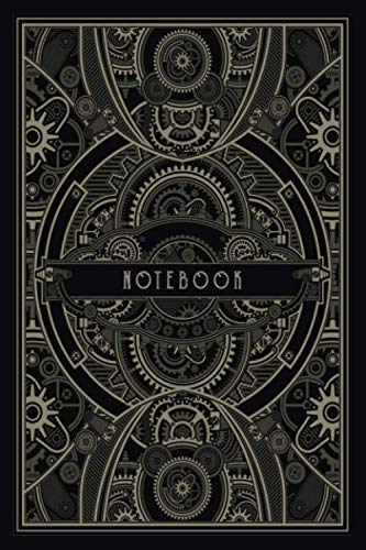 The Steampunk Notebook: Ruled notebook | 100 pages, 6x9 inches | Gift for steampunk lovers
