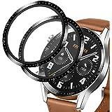 【2張】Huawei watch gt2 46mm 保護膜 [2.5D/耐沖擊/高透光率/防塵/防指紋/防氣泡/碳纖維] Huawei watch gt2 46mm 液晶軟膜