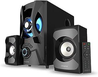 مكبر صوت بتقنية البلوتوث 2.1 مع مضخم صوت لاجهزة الكمبيوتر والتليفزيونات من كرييتيف SBS E2900 - اسود