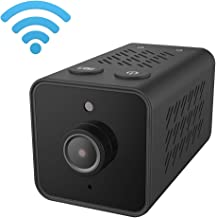 Lenofocus Spy Camera Wireless WiFi Hidden Cameras 1080P HD Night Vision Motion Detection Mini Nanny Cam Indoor Home Security Covert Video Camcorder Car Dash Camera