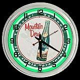 ELG Companies LLC 16' Mountain Dew Ya-Hooo! Sign Neon Clock Mt Dew It'l Tickle Your innards!