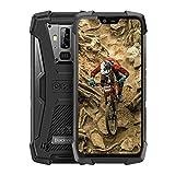 Blackview BV9700 Pro movil antigolpes Todoterreno - 5.84' Pulgadas FHD + IP68 Smartphone Resistente Agua y Golpes, Helio P70 6GB + 128GB Android 9.0, Calidad del Aire y Monitor de frecuencia cardíaca